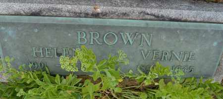 BROWN, VERNIE - Union County, Ohio | VERNIE BROWN - Ohio Gravestone Photos