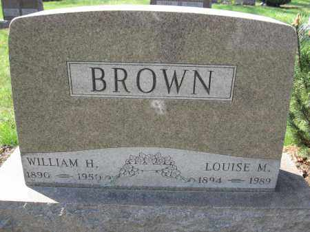 BROWN, WILLIAM H. - Union County, Ohio | WILLIAM H. BROWN - Ohio Gravestone Photos