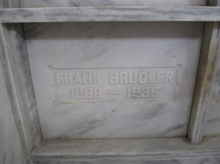 BRUGLER, FRANK - Union County, Ohio | FRANK BRUGLER - Ohio Gravestone Photos