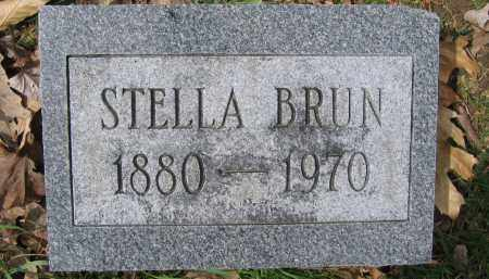 BRUN, STELLA - Union County, Ohio | STELLA BRUN - Ohio Gravestone Photos