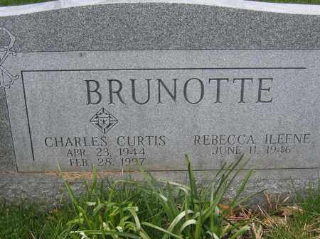 BRUNOTTE, CHARLES CURTIS - Union County, Ohio | CHARLES CURTIS BRUNOTTE - Ohio Gravestone Photos