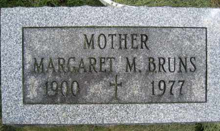 BRUNS, MARGARET M. - Union County, Ohio | MARGARET M. BRUNS - Ohio Gravestone Photos