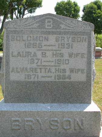 BRYSON, SOLOMON - Union County, Ohio | SOLOMON BRYSON - Ohio Gravestone Photos