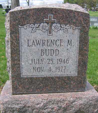 BUDD, LAWRENCE M. - Union County, Ohio | LAWRENCE M. BUDD - Ohio Gravestone Photos
