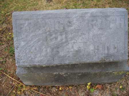 BULEN, FRANCES RUTH - Union County, Ohio   FRANCES RUTH BULEN - Ohio Gravestone Photos