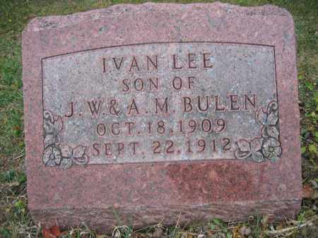 BULEN, IVAN LEE - Union County, Ohio | IVAN LEE BULEN - Ohio Gravestone Photos