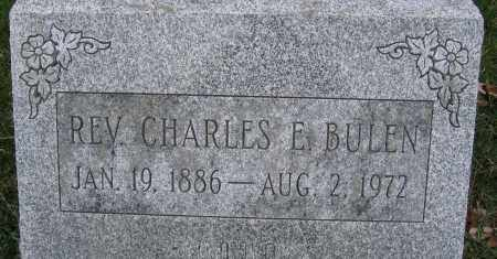 BULEN, REV., CHARLES E. - Union County, Ohio | CHARLES E. BULEN, REV. - Ohio Gravestone Photos