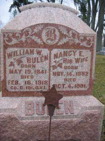 BULEN, NANCY E. - Union County, Ohio | NANCY E. BULEN - Ohio Gravestone Photos
