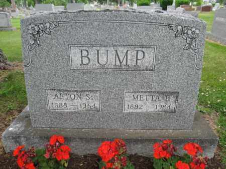 BUMP, AFTON S. - Union County, Ohio | AFTON S. BUMP - Ohio Gravestone Photos