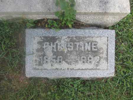 BUNSOLD, CHRISTINE - Union County, Ohio | CHRISTINE BUNSOLD - Ohio Gravestone Photos