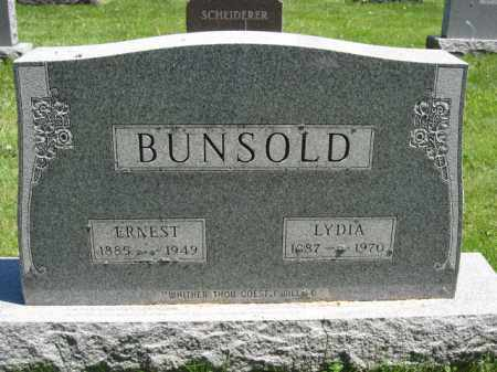 BUNSOLD, LYDIA - Union County, Ohio | LYDIA BUNSOLD - Ohio Gravestone Photos