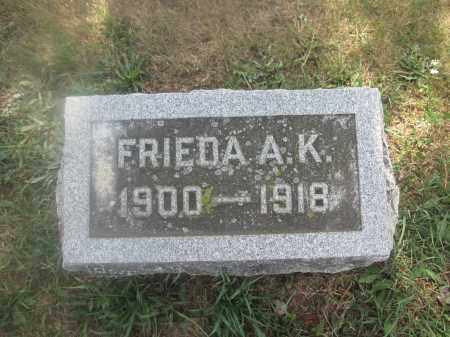 BUNSOLD, FRIEDA A.K. - Union County, Ohio | FRIEDA A.K. BUNSOLD - Ohio Gravestone Photos