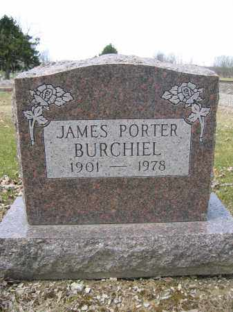 BURCHIEL, JAMES PORTER - Union County, Ohio   JAMES PORTER BURCHIEL - Ohio Gravestone Photos