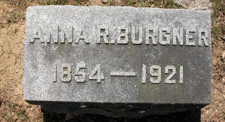 BURGNER, ANNA - Union County, Ohio | ANNA BURGNER - Ohio Gravestone Photos
