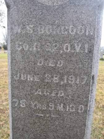 BURGOON, WILSON S. - Union County, Ohio | WILSON S. BURGOON - Ohio Gravestone Photos