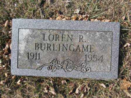 BURLINGAME, LOREN R. - Union County, Ohio | LOREN R. BURLINGAME - Ohio Gravestone Photos