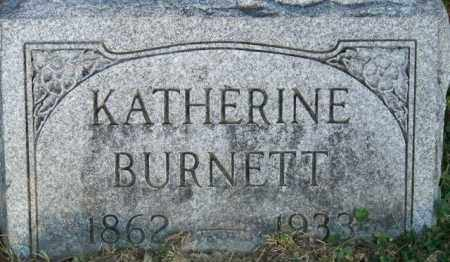 BURNETT, KATHERINE - Union County, Ohio | KATHERINE BURNETT - Ohio Gravestone Photos
