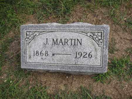 BURNS, J. MARTIN - Union County, Ohio | J. MARTIN BURNS - Ohio Gravestone Photos