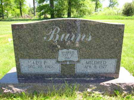 BURNS, MILDRED - Union County, Ohio | MILDRED BURNS - Ohio Gravestone Photos