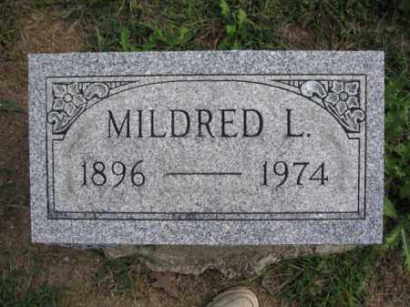 BURNS, MILDRED L. - Union County, Ohio | MILDRED L. BURNS - Ohio Gravestone Photos