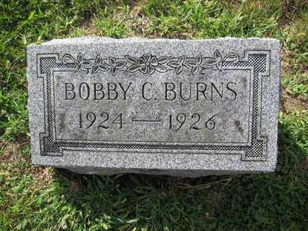 BURNS, ROBERT C. - Union County, Ohio | ROBERT C. BURNS - Ohio Gravestone Photos