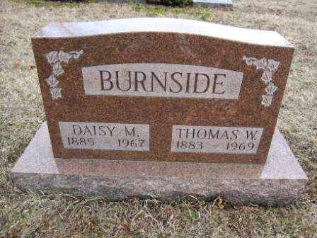 BURNSIDE, DAISY M. - Union County, Ohio | DAISY M. BURNSIDE - Ohio Gravestone Photos
