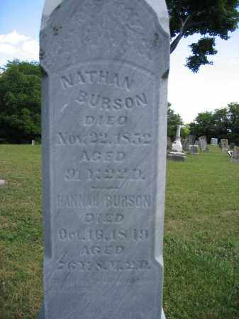 BURSON, HANNAH - Union County, Ohio | HANNAH BURSON - Ohio Gravestone Photos