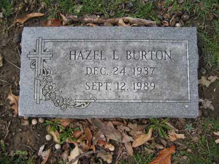 BURTON, HAZEL L. - Union County, Ohio | HAZEL L. BURTON - Ohio Gravestone Photos