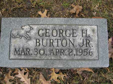 BURTON, JR., GEORGE H. - Union County, Ohio | GEORGE H. BURTON, JR. - Ohio Gravestone Photos