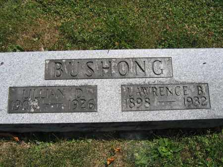 BUSHONG, LAWRENCE B. - Union County, Ohio | LAWRENCE B. BUSHONG - Ohio Gravestone Photos
