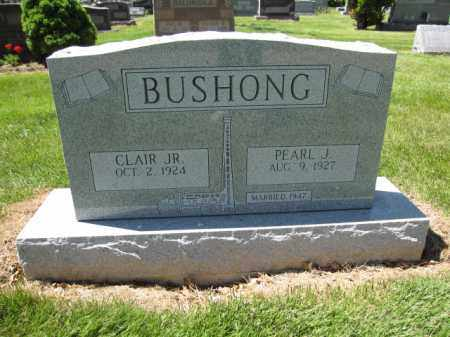 BUSHONG, PEARL J. - Union County, Ohio | PEARL J. BUSHONG - Ohio Gravestone Photos
