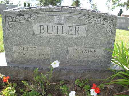 BUTLER, MAXINE - Union County, Ohio | MAXINE BUTLER - Ohio Gravestone Photos