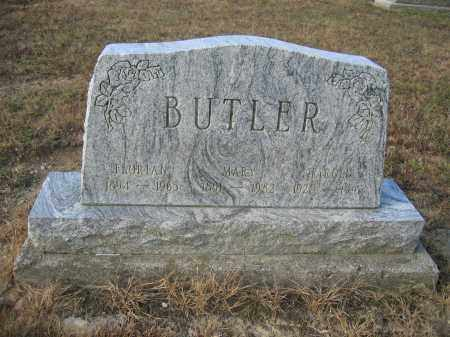 BUTLER, FLORIAN - Union County, Ohio | FLORIAN BUTLER - Ohio Gravestone Photos