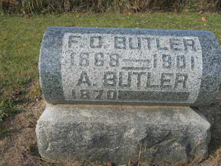 BUTLER, A. - Union County, Ohio | A. BUTLER - Ohio Gravestone Photos