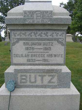 BUTZ, DELILAH BREECE - Union County, Ohio | DELILAH BREECE BUTZ - Ohio Gravestone Photos