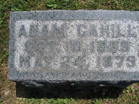 CAHILL, ADAM - Union County, Ohio | ADAM CAHILL - Ohio Gravestone Photos