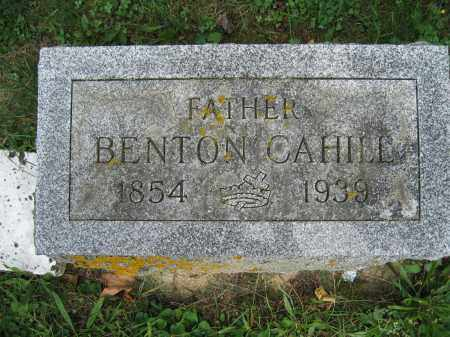 CAHILL, BENTON - Union County, Ohio | BENTON CAHILL - Ohio Gravestone Photos