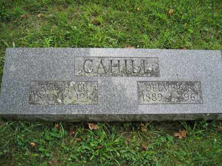 CAHILL, EVA HALL - Union County, Ohio | EVA HALL CAHILL - Ohio Gravestone Photos