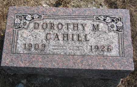 CAHILL, DOROTHY M. - Union County, Ohio | DOROTHY M. CAHILL - Ohio Gravestone Photos