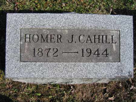 CAHILL, HOMER J - Union County, Ohio | HOMER J CAHILL - Ohio Gravestone Photos