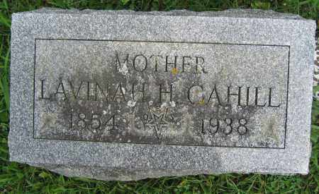CAHILL, LAVINAH H. - Union County, Ohio | LAVINAH H. CAHILL - Ohio Gravestone Photos