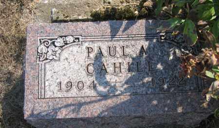 CAHILL, PAUL A. - Union County, Ohio | PAUL A. CAHILL - Ohio Gravestone Photos
