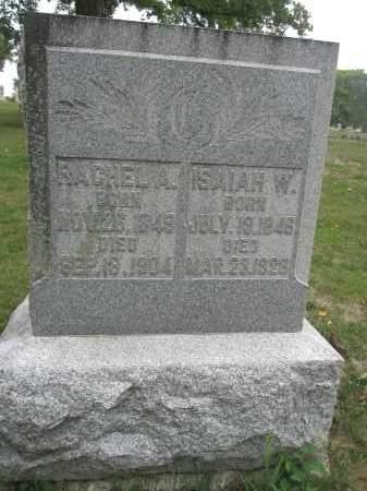 CALLAHAN, RACHEL A. - Union County, Ohio | RACHEL A. CALLAHAN - Ohio Gravestone Photos