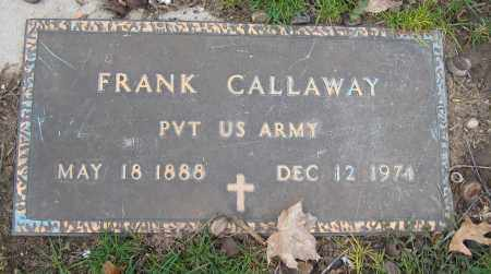CALLAWAY, FRANK - Union County, Ohio | FRANK CALLAWAY - Ohio Gravestone Photos