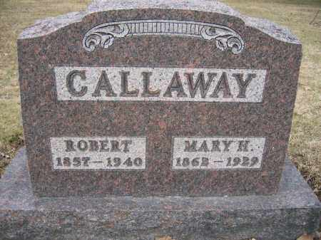 CALLAWAY, ROBERT - Union County, Ohio | ROBERT CALLAWAY - Ohio Gravestone Photos
