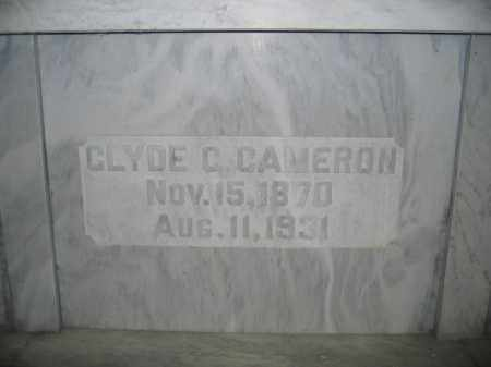 CAMERON, CLYDE C. - Union County, Ohio | CLYDE C. CAMERON - Ohio Gravestone Photos