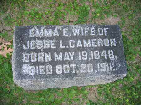CAMERON, EMMA E. - Union County, Ohio | EMMA E. CAMERON - Ohio Gravestone Photos