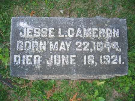 CAMERON, JESSE L. - Union County, Ohio | JESSE L. CAMERON - Ohio Gravestone Photos