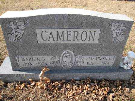 CAMERON, ELIZABETH C - Union County, Ohio | ELIZABETH C CAMERON - Ohio Gravestone Photos