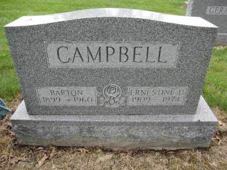 CAMPBELL, ERNSETINE D. - Union County, Ohio | ERNSETINE D. CAMPBELL - Ohio Gravestone Photos